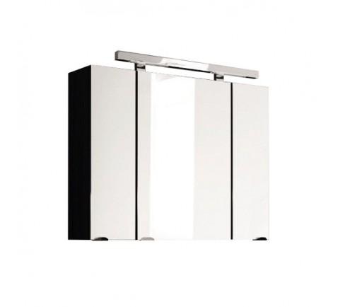 Spiegelschrank Rima Anthrazit 80cm 5681-84 inkl. LED Aufbauleuchte