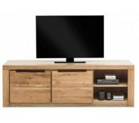 TV-Kommode TV Lowboard in Wildeiche geölt Teilmassiv Breite 160cm NEU