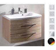 Waschplatz Waschtisch Rima 80cm breit Eiche Sonoma