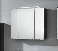 Spiegelschrank Rima Anthrazit 90cm  inkl. LED Aufbauleuchte