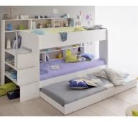 Parisot Etagenbett Bibop 21 Kinderbett Hochbett 90x200cm mit Bettschubkasten