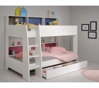 Etagenbett Tam Tam 11 Hochbett Kinderbett 90x200cm mit Bettschubkasten